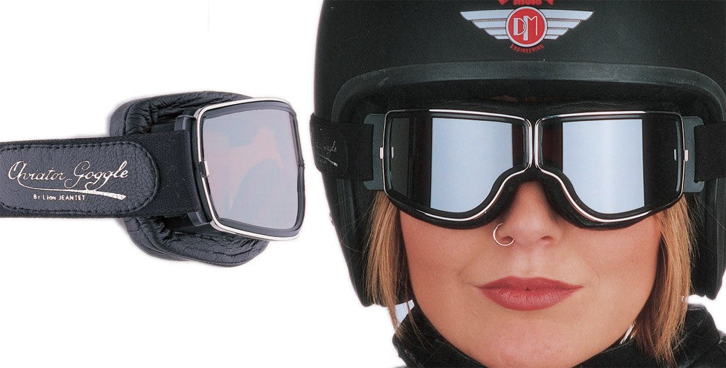 Aviator Pilot Motorcycle Goggles