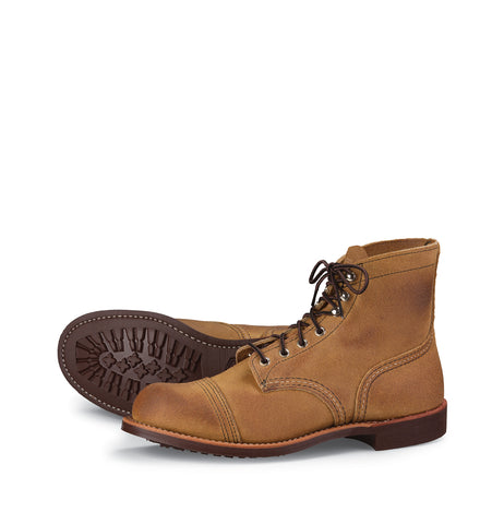 Redwing iron ranger 8083 hawthorne suede boots