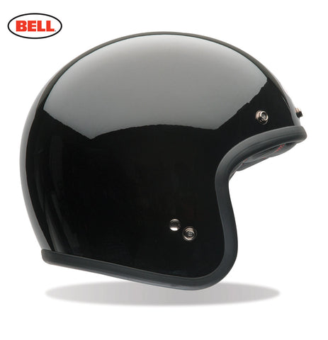 Bell Custom 500 solid black motorcycle helmet