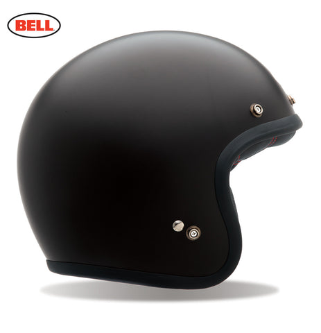 Bell Custom 500 matte black motorcycle helmet