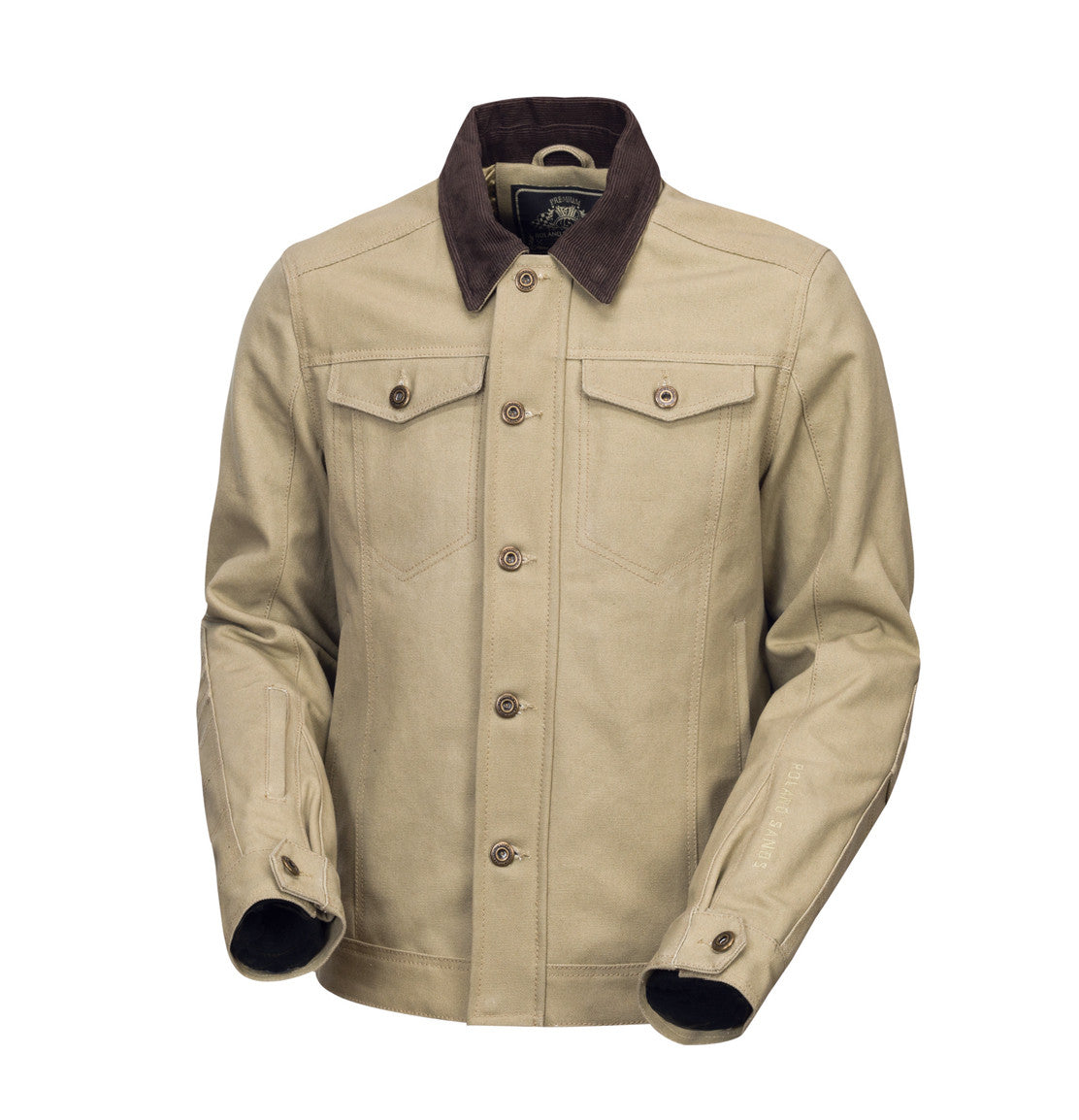 Roland Sands Design - Ramone - Khaki motorcycle jacket