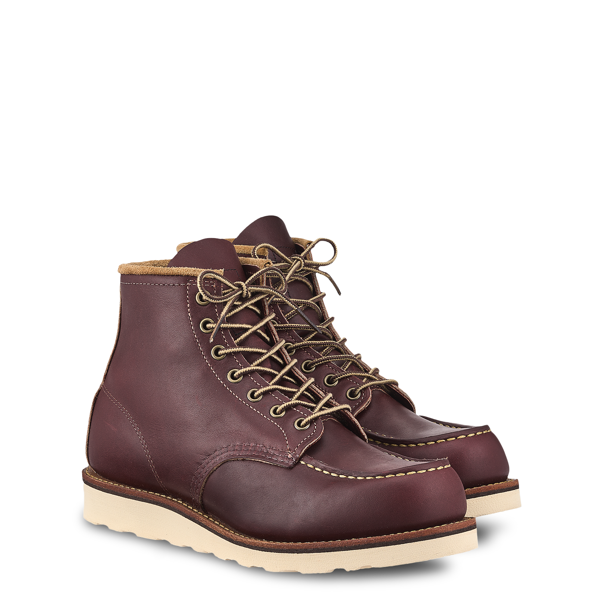oxblood red wings