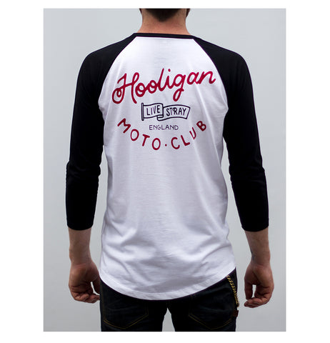 The Stray Club raglan T shirt