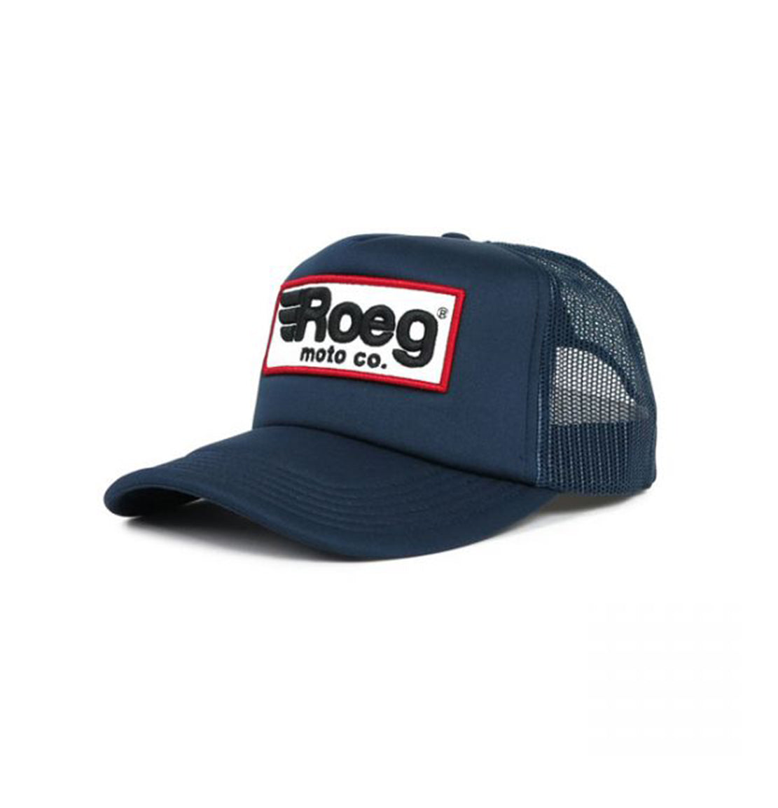 roeg blue trucker cap