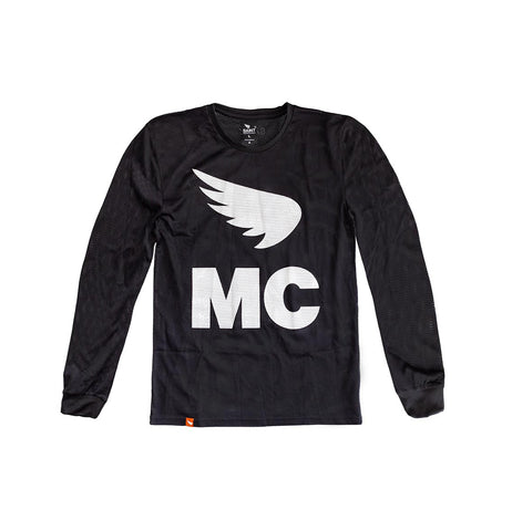 Saint - MC MOTOCROSS TOP - BLACK