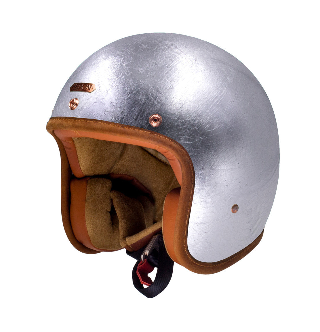 Hedon Hedonist Silver Lining motorcycle helmet