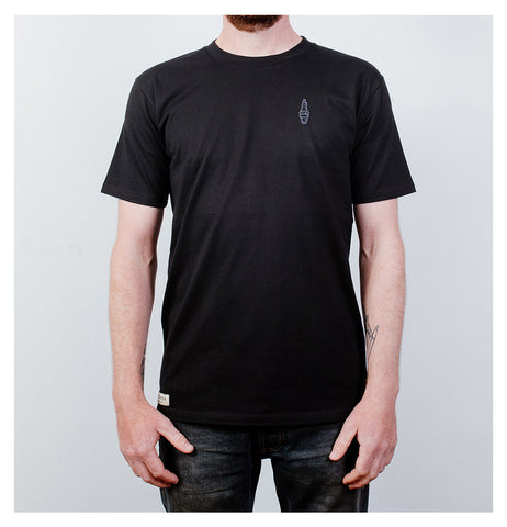 Idle Torque - Badge Tee - Black