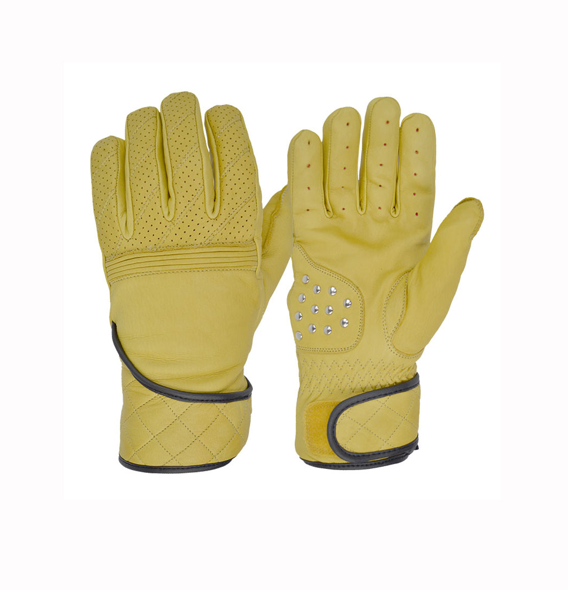 Goldtop Flat tracker motorcycle gloves