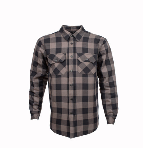 Resurgence Riding Shirt grey and black