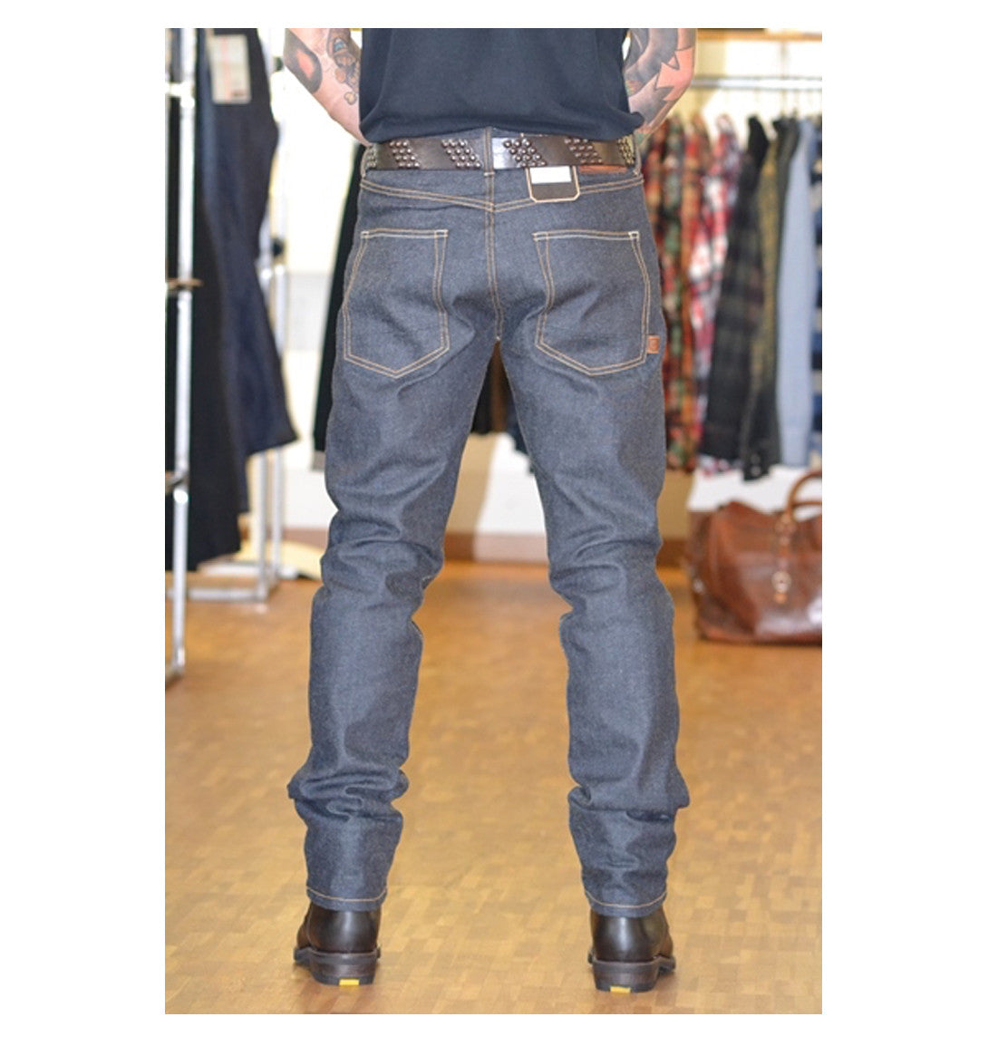 Rokker Iron Selvedge Motorcycle Jean