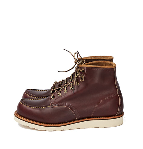 red wing oxblood moc toe