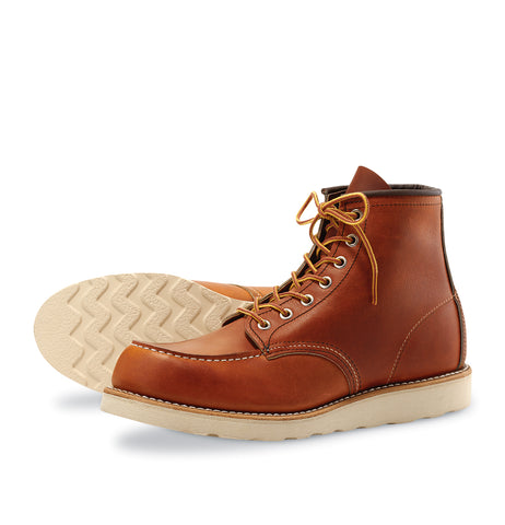 Redwing classic Moc Toe Leicester