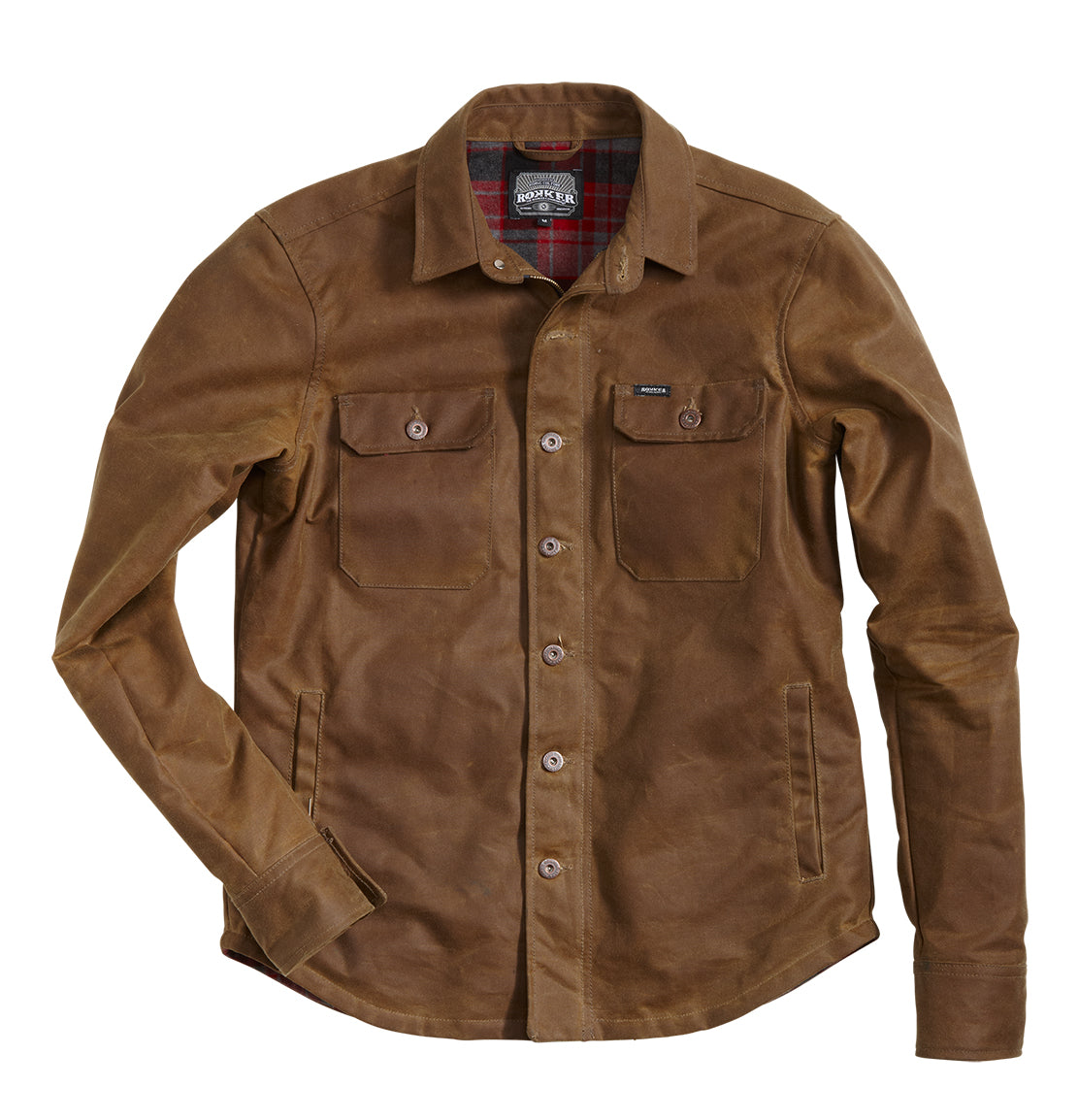 Rokker wax cotton overshirt