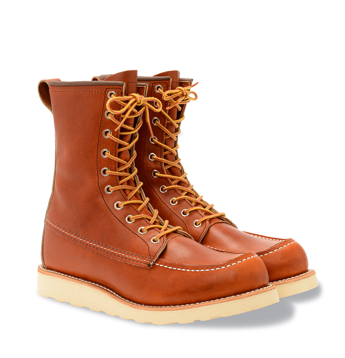 red wing boots 8 inch moc toe