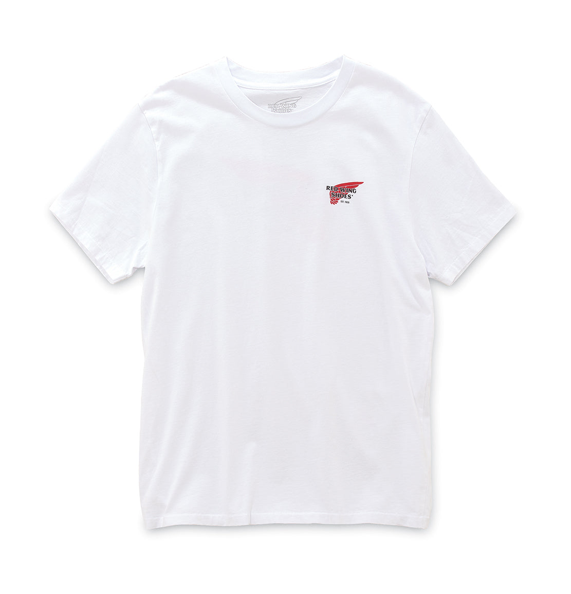 red wing white t shirt