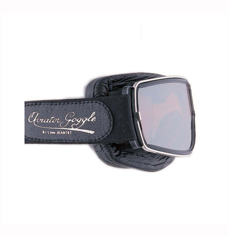 Aviator Pilot Motorcycle Goggles T2 Black