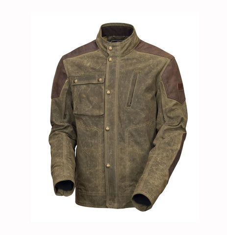 Roland Sands wax cotton truman ranger motorcycle jacket