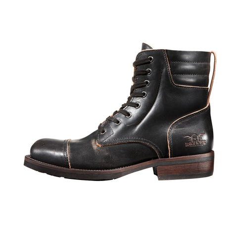 Rokker Urban Racer Black Motorcycle Boot