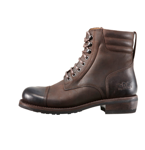 Rokker Urban Racer Dark Brown Motorcycle Boot