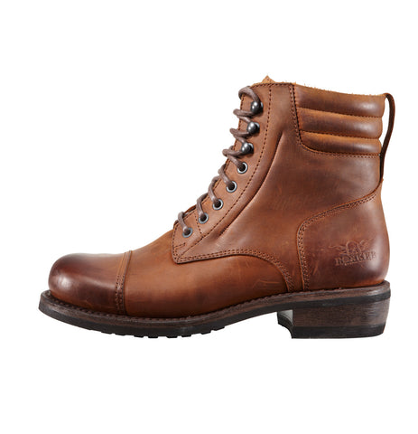 Rokker Urban Racer Light Brown Motorcycle Boot