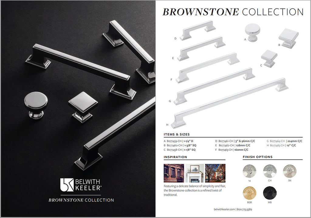 Brownstone Collection Specs.