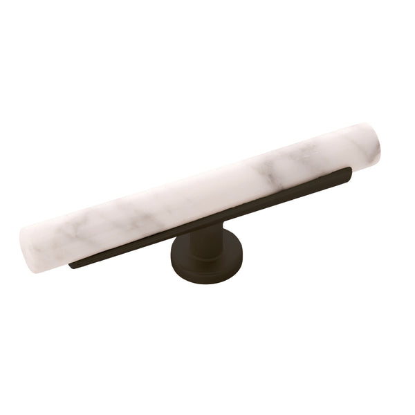 White Marble with Oil Rubbed Bronze / regular