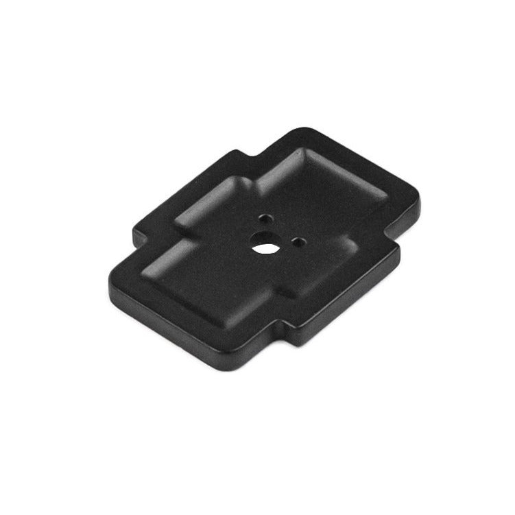1-3/4 Inch x 1-1/4 Inch Coventry Knob Backplate