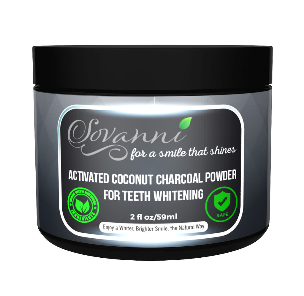 Activated Charcoal Powder Teeth Whitening - Mint Flavor-Made in the USA With Organic Coconut Activated Charcoal For Healthier And Stronger Teeth Without All The Chemicals, Strips, and Kits. 2fl.oz
