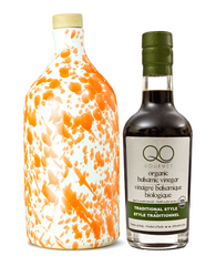 Olive Oil & Vinegar Gift Set | PUGLIA ORANGE EVOO + ORGANIC Aged Balsamic Vinegar