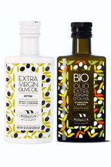 PITTED & ORGANIC Extra Virgin Olive Oil First Cold Pressed Gift Set | 2017 GOLD Award Winner
