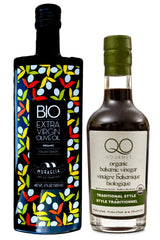 Antico Frantoio Muraglia | Essenza Bio ORGANIC evoo | First Cold Pressed + QO Balsamic Vinegar ORGANIC Traditional Style