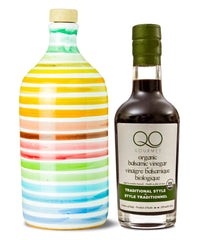 Olive Oil and Vinegar Gift Set | Muraglia RAINBOW EVOO + QO ORGANIC Aged Balsamic Vinegar