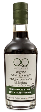USDA Certified Organic Traditional Style Balsamic Vinegar of Modena by QO