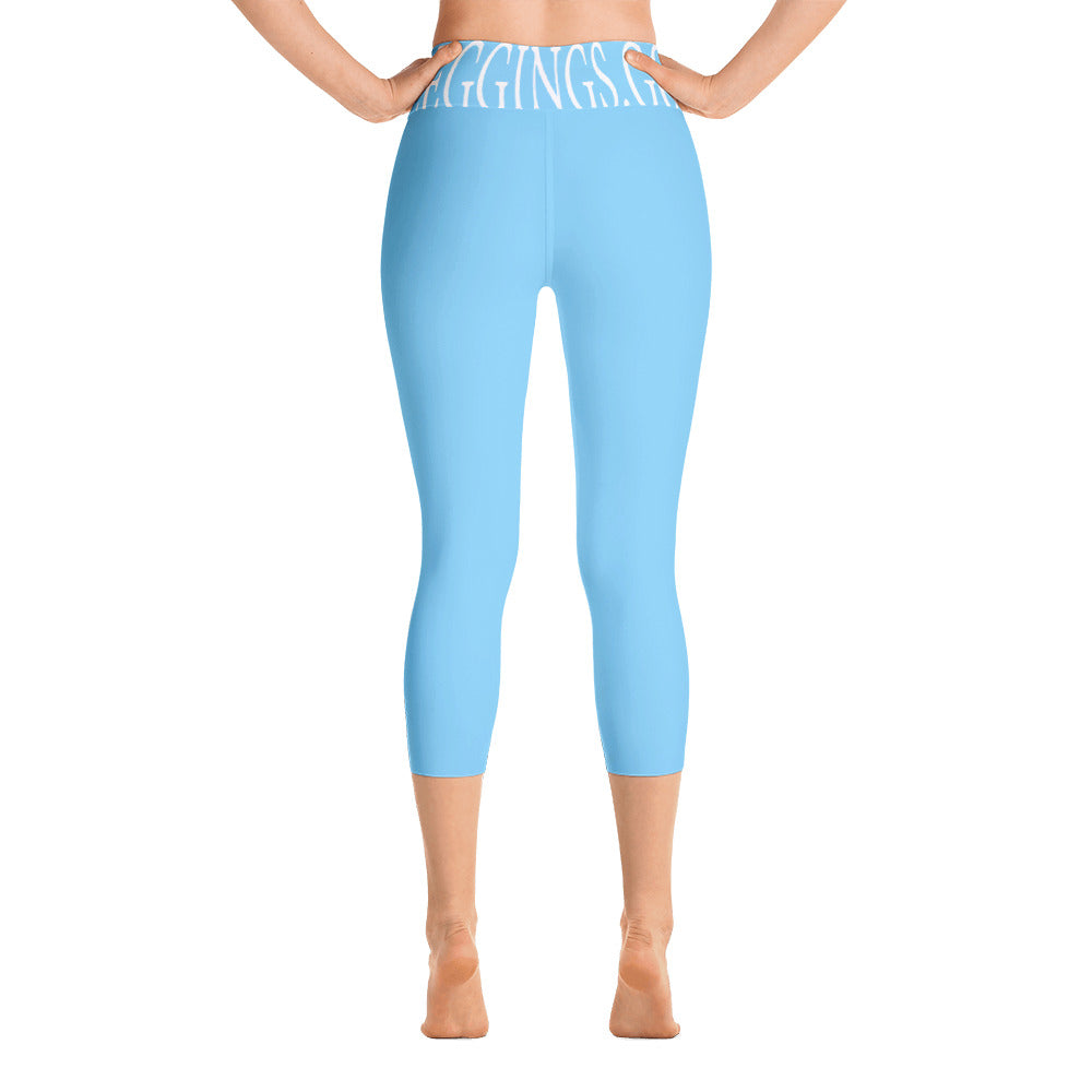 Baby Blue Leggings - Leggings.gg