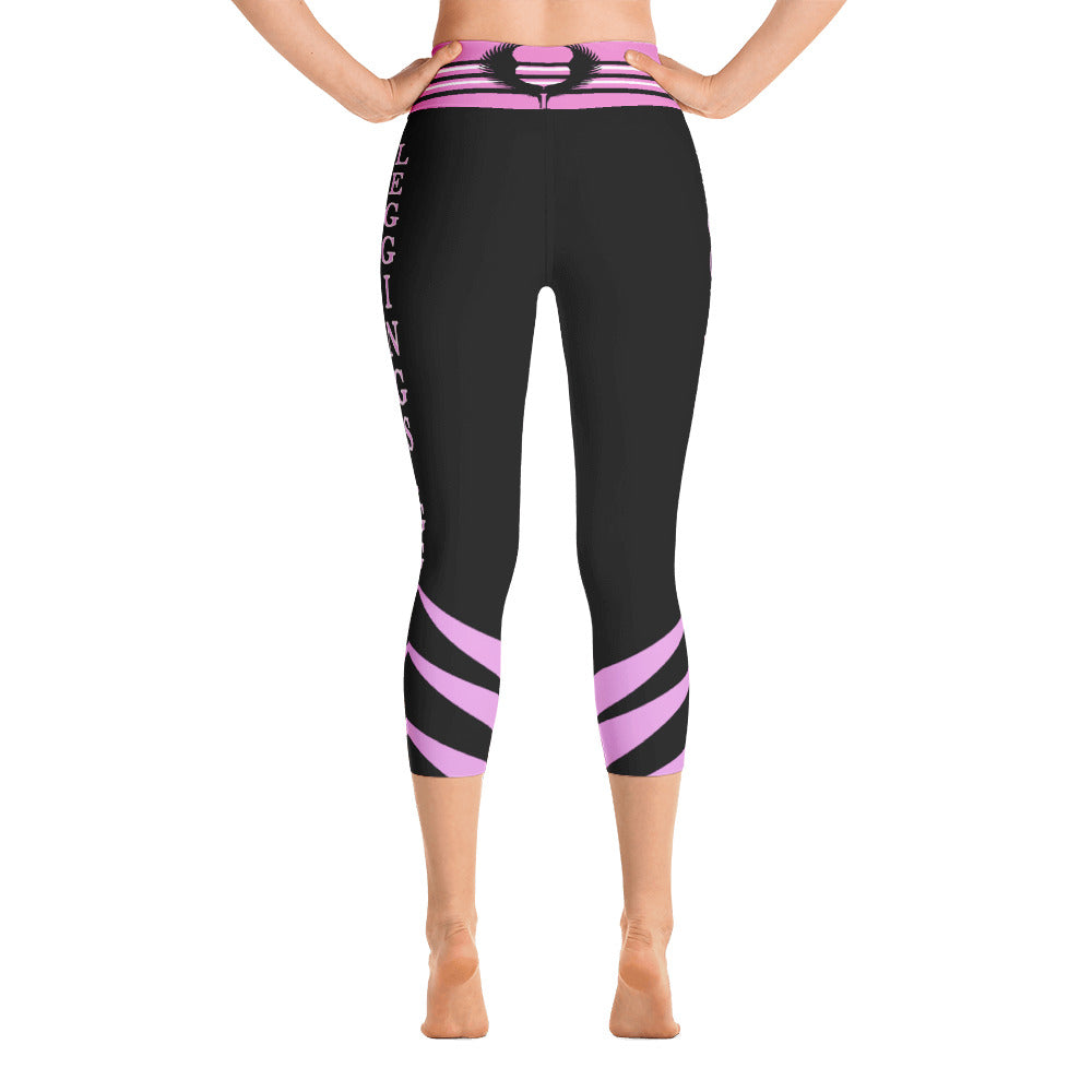 Valkyrie Dark Yoga Short Leggings - Leggings.gg