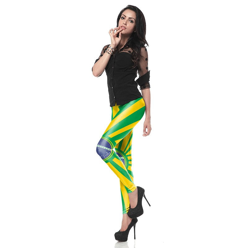 Brazil Leggings - Leggings.gg