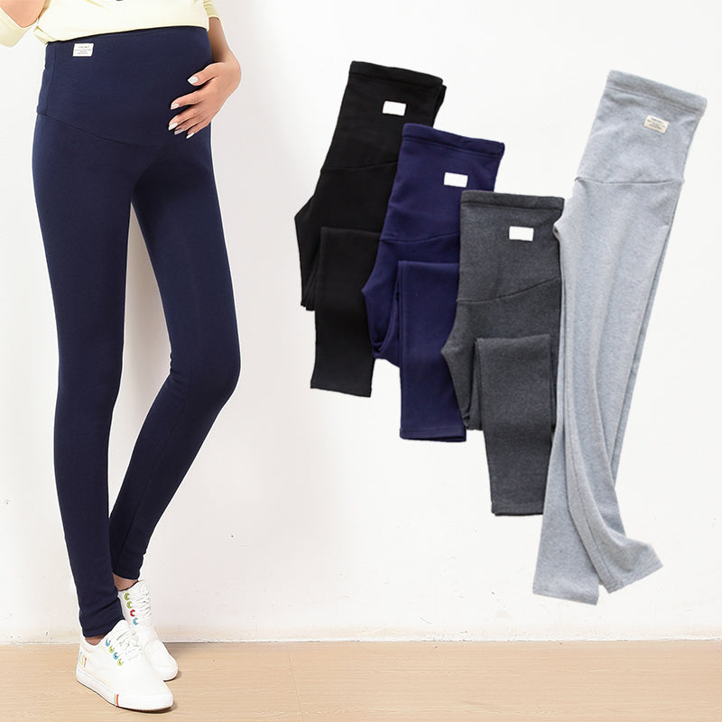 Maternity Cotton Leggings - Leggings.gg