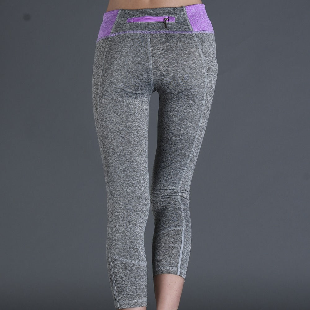 Skin Leggings With Zipper Pocket - Leggings.gg