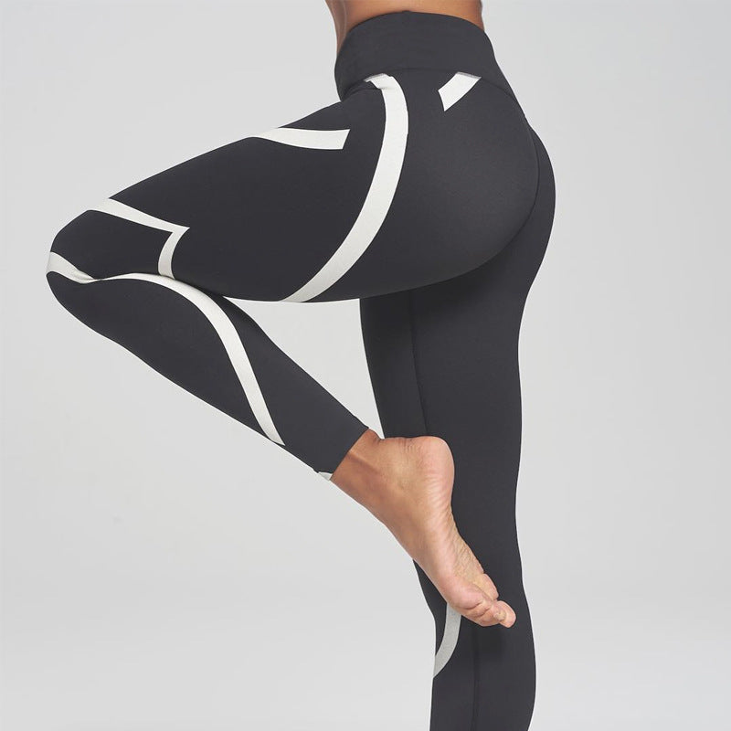 Black White Leggings - Leggings.gg