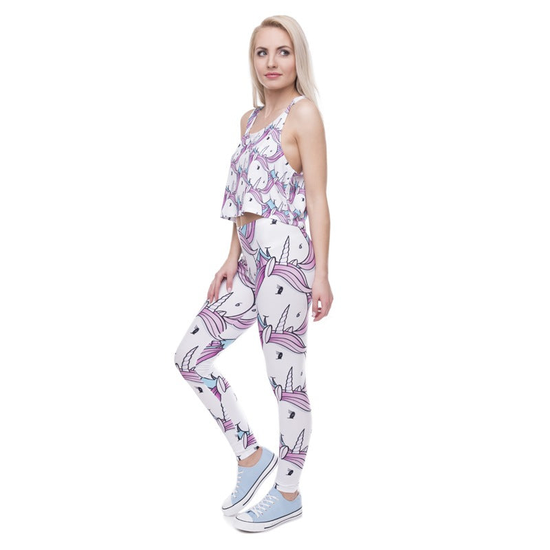 Unicorn Pink Leggings - Leggings.gg