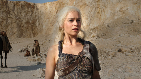 Daenerys with few braids