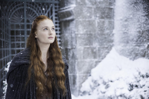 Sansa with top braids