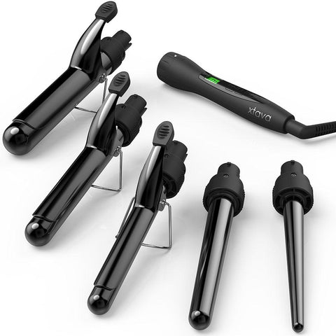 5-in-1 Curling Iron with Temp Control