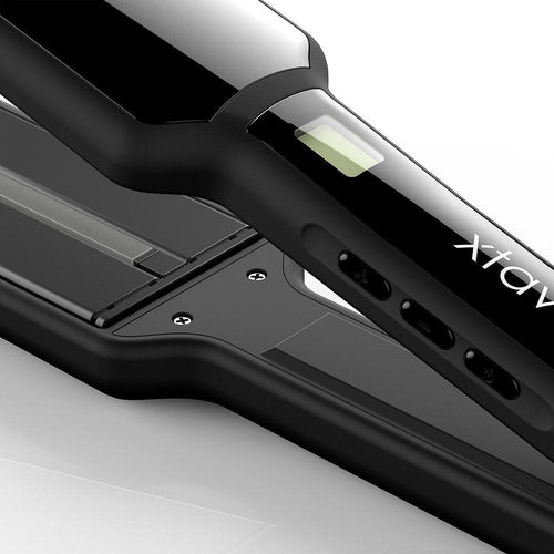 xtava infrared hair straightener up close