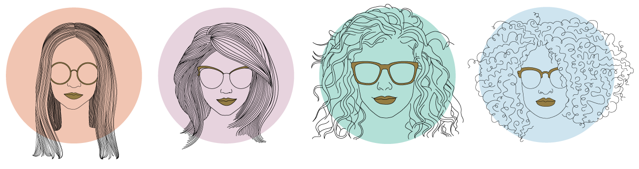 Four Hair Types Outline