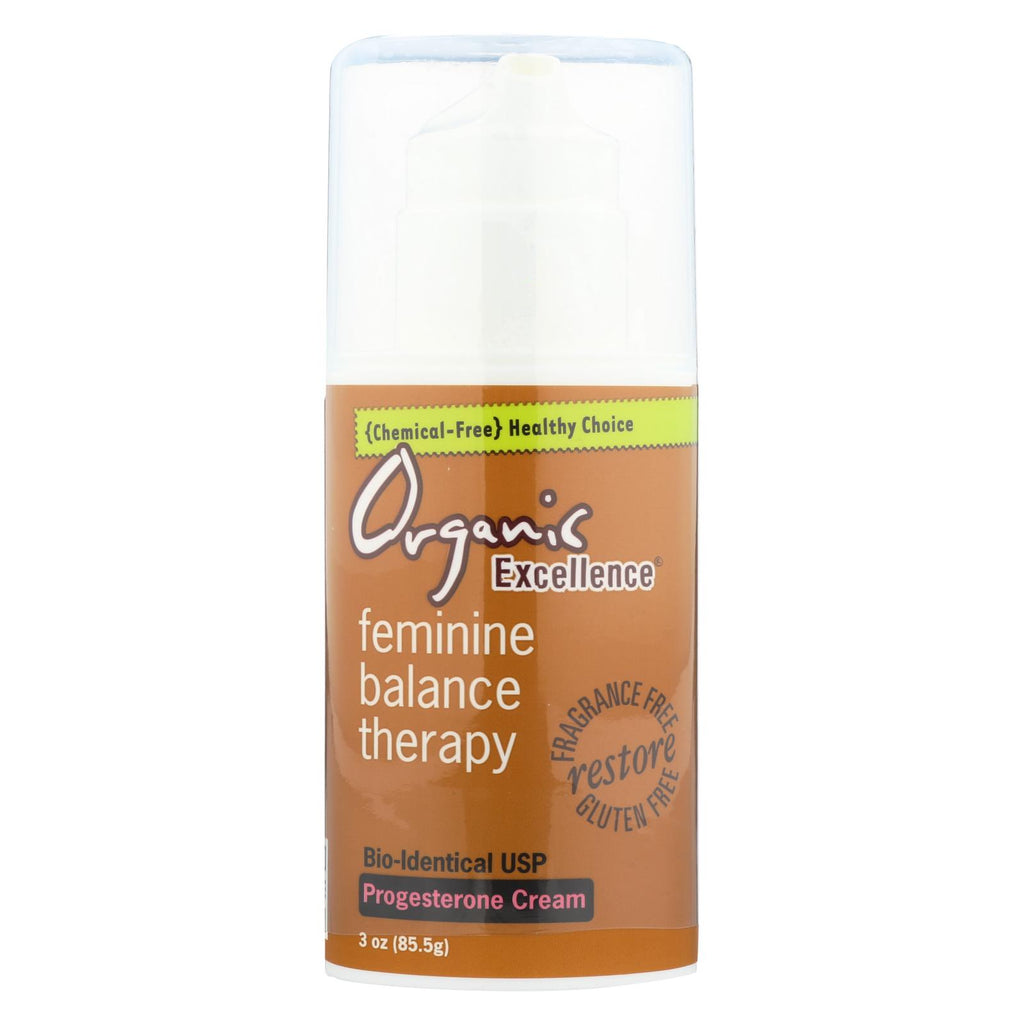 Organic Excellence Feminine Balance Therapy - 3 Oz