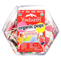 Yummy Earth Counter Top Bin Lollipops Assorted Flavors - 30 Oz