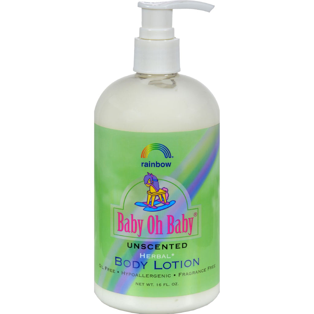 Rainbow Research Body Lotion - Herbal - Baby - Unscented - 16 Fl Oz