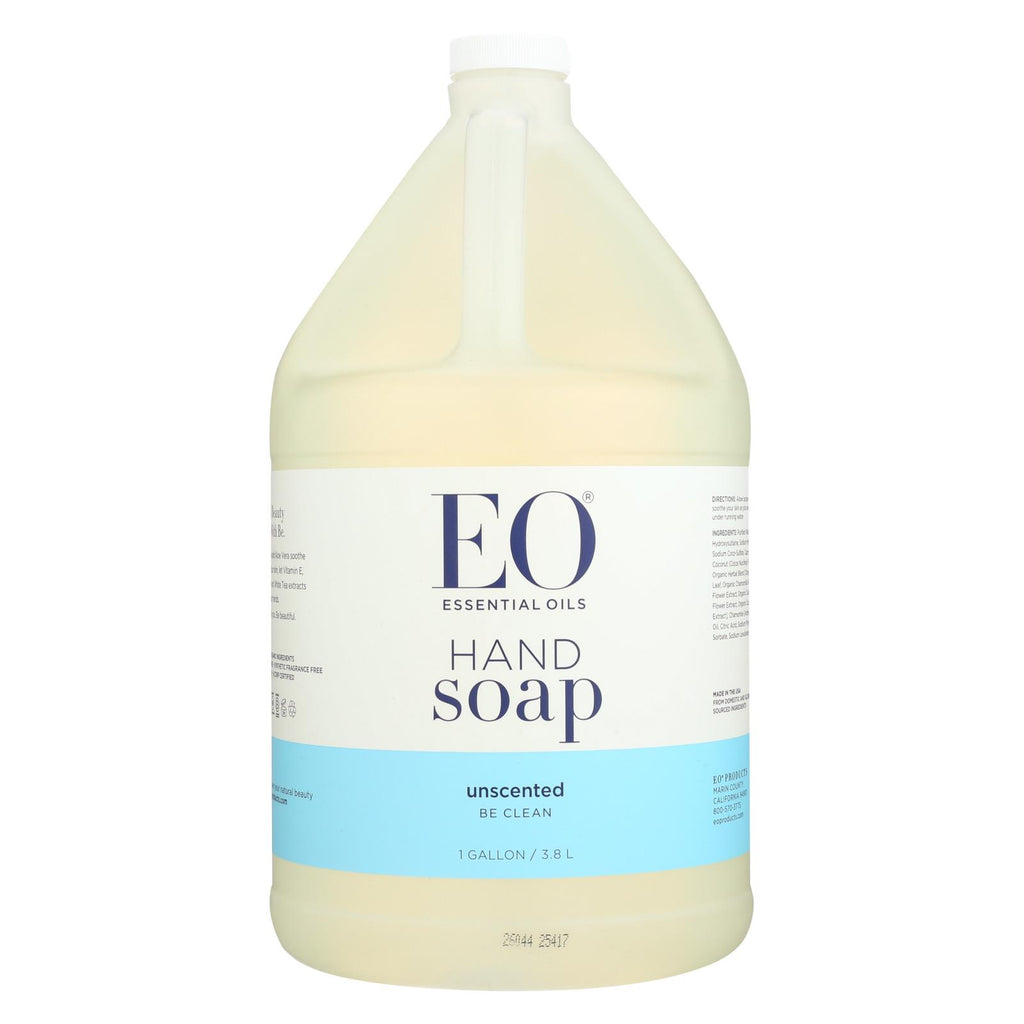 Eo Products Liquid Hand Soap Refill Unscented - 128 Fl Oz - Organicotc.com