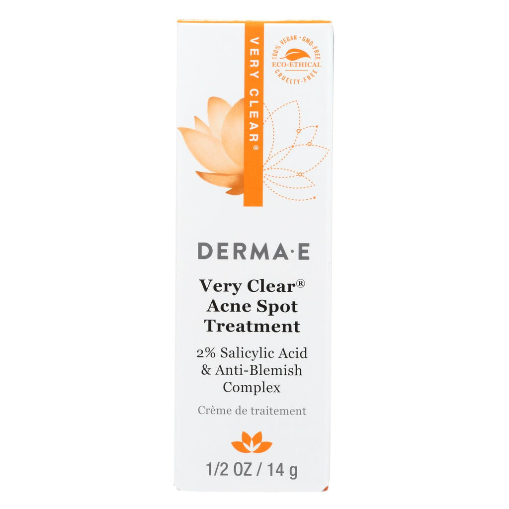 Derma E Very Clear Spot Blemish Treatment - 16 Ml - Organicotc.com